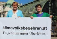 Helga Krismer: Startschuss zu österreichweitem Klimavolksbegehren