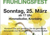 Frühlingsfest Grünes Kleeblatt 25.März ab 17:00 Uhr Himmelkeller Kronberg,Theater Fahraway Samstag 7. April 20:00 Uhr VS Ulrichskirchen ,